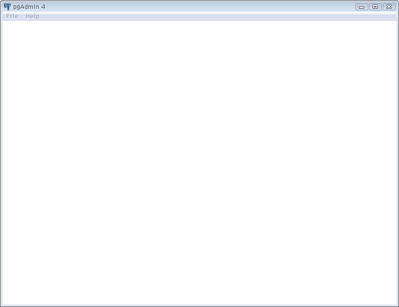 待望のpgAdmin4ベータ版が出たので、Windowsのポータブルアプリ